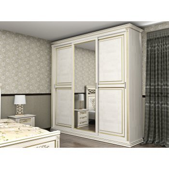 Шкаф двухстворчатый Лирона 640