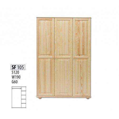 Шкаф трехстворчатый Витязь 105